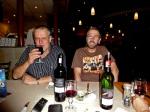 Charl and Stephen at Libdin
